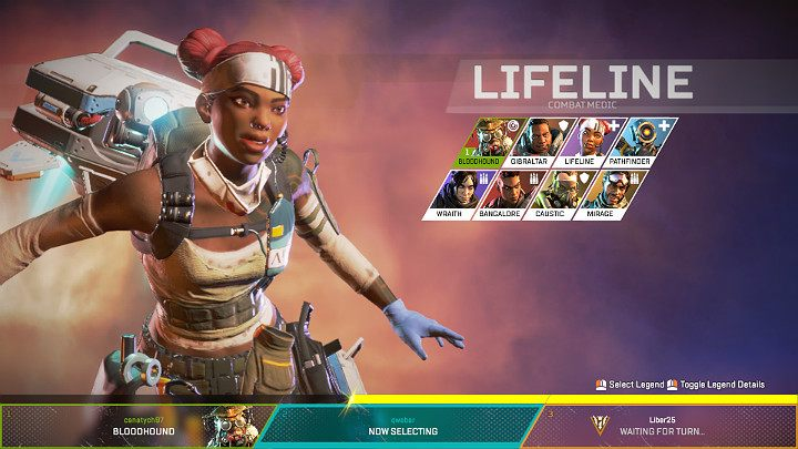 Lifeline - Combat Medic | Heroes Apex Legends - Apex Legends
