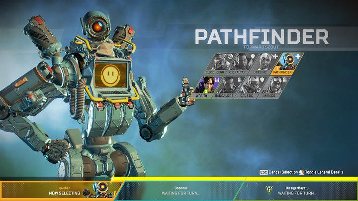 Pathfinder - Forward Scout | Heroes Apex Legends - Apex
