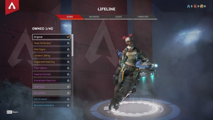 Passive ability - Faster healing and increased health regeneration - Starting Legends in Apex Legends - Starting tips - Apex Legends Guide