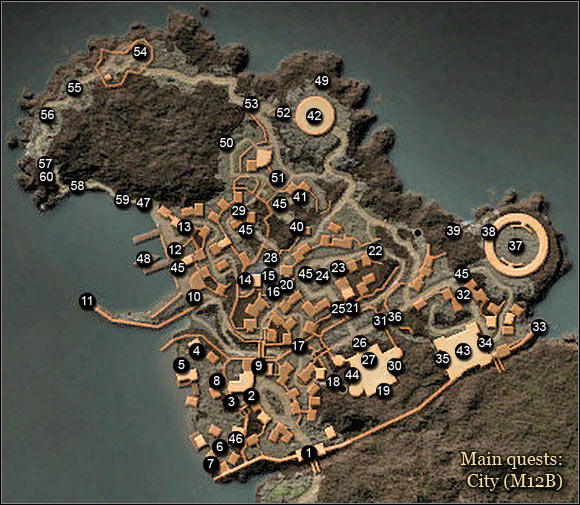 3 - Maps | Thorniara Main Quests - Thorniara - Arcania: Gothic 4 Game Guide