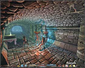 The good option is to get back to the main corridor and as a matter of fact, your enemies will be hit by those fireballs #1 - Quests - p. 4 - The Lost Temple - Arcania: Gothic 4 - Game Guide and Walkthrough