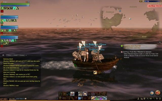 Путешествие на лодке.  - 5. Транспортные средства - ArcheAge - Руководство по игре и пошаговое руководство