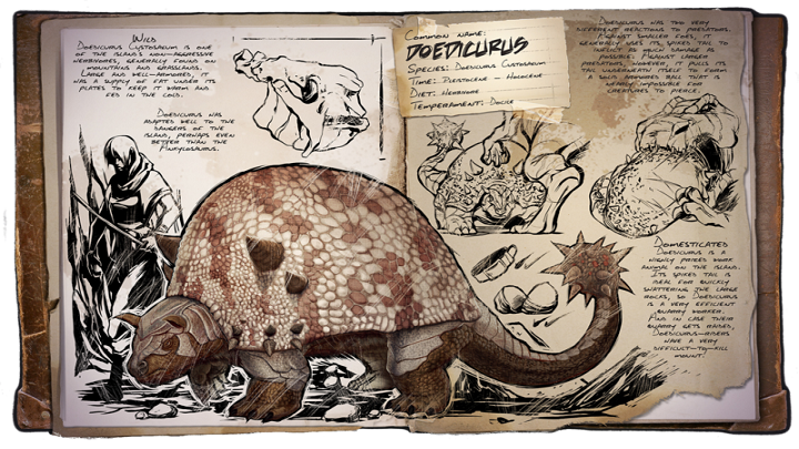 Resource collecting creatures - ARK: Survival Evolved Game