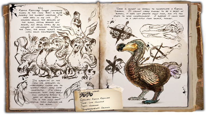 A creature resembling a chicken, require to start egg farming - this will allow you to get a Pteradon quicker - Farming creatures - Most useful dinosaurs - ARK: Survival Evolved Game Guide