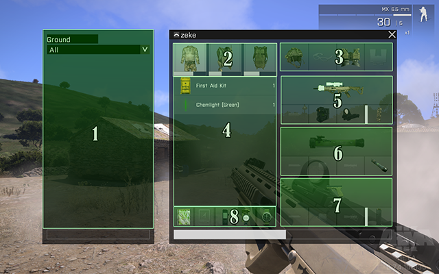 Interface | Gameplay Basics - Arma III Game Guide