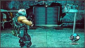 Make sure every single enemy is dead and open the door located behind Habiib's hiding place - Afghanistan - Walkthrough - Army of Two - Game Guide and Walkthrough