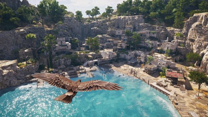 The eagle from Assassins Creed Origins returns in Odyssey. - Do I need to know the previous AC Origins in order to play Odyssey? - FAQ - Assassins Creed Odyssey Guide