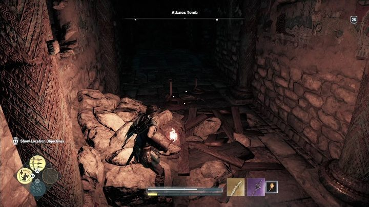 Upon reaching another chamber you will be attacked by snakes - Paros - Tombs in Assassins Creed Odyssey Game - Tombs - Assassins Creed Odyssey Guide