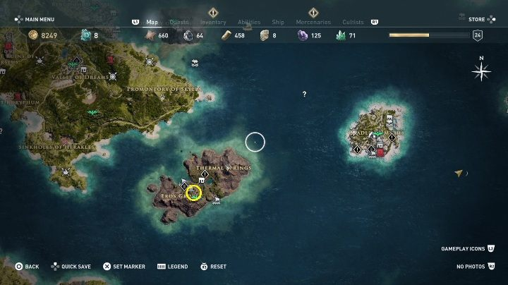 3 - Side Quests in Obsidian Islands in Assassins Creed Odyssey - Side Quests - Assassins Creed Odyssey Guide