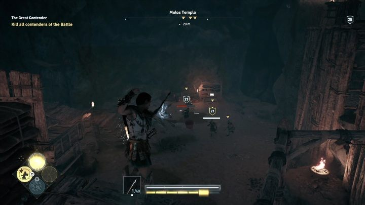 Walkthrough: After you talk to him, you will wage a grand battle - Side Quests in Obsidian Islands in Assassins Creed Odyssey - Side Quests - Assassins Creed Odyssey Guide