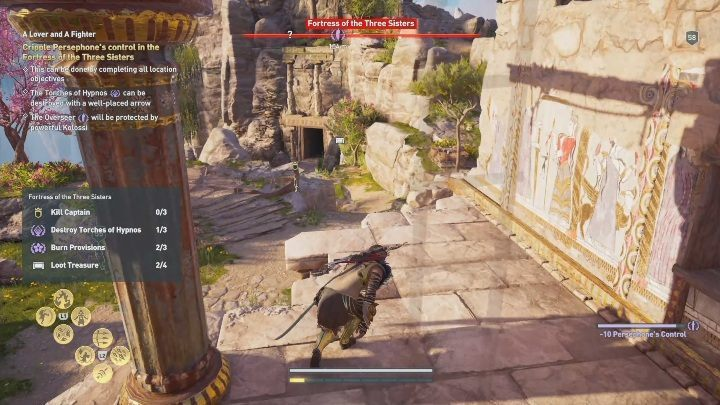 To do that, travel to the Fortress of the Three Sisters - Fields of Elysium | Romances in AC Odyssey Fate of Atlantis - Romances - Assassins Creed Odyssey Guide