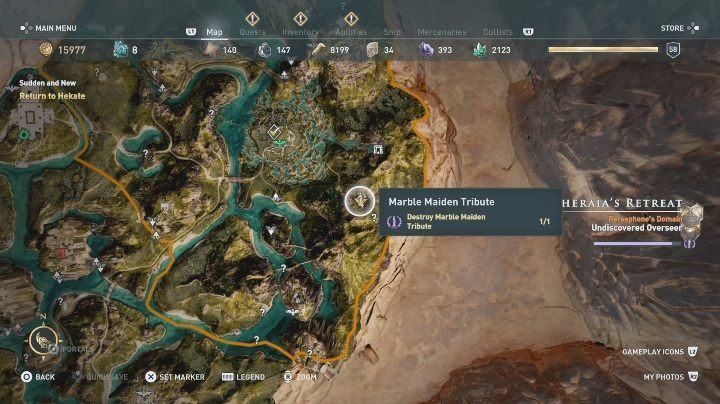 2 - Pheraias Retreat | Marble Maiden Tribute - Marble Maiden Tribute - Assassins Creed Odyssey Guide