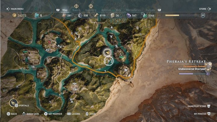 3 - Pheraias Retreat | Marble Maiden Tribute - Marble Maiden Tribute - Assassins Creed Odyssey Guide