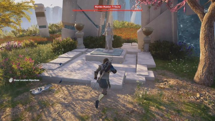 The second of Marble Maiden Tributes can be found east from Iapetos Ruins - Deukalions Heritage | Marble Maiden Tribute - Marble Maiden Tribute - Assassins Creed Odyssey Guide