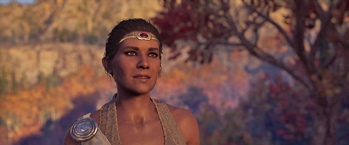 Daphnae is the third romance option - Phokis Map - tombs, ostracons, documents, secrets - World Atlas - Assassins Creed Odyssey Guide