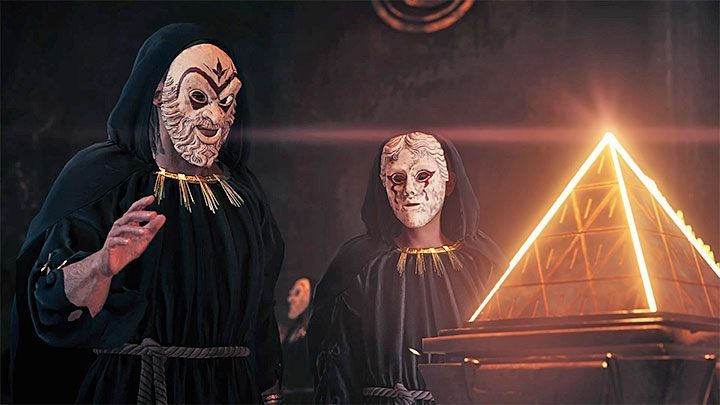 The Cultists are a secret organization in Assassins Creed: Odyssey - Who are Kosmos Cultists in Assassins Creed Odyssey? - Kosmos Cultists - Assassins Creed Odyssey Guide