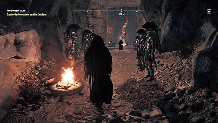 You cannot miss the encounter with the cultists in the game - Who are Kosmos Cultists in Assassins Creed Odyssey? - Kosmos Cultists - Assassins Creed Odyssey Guide