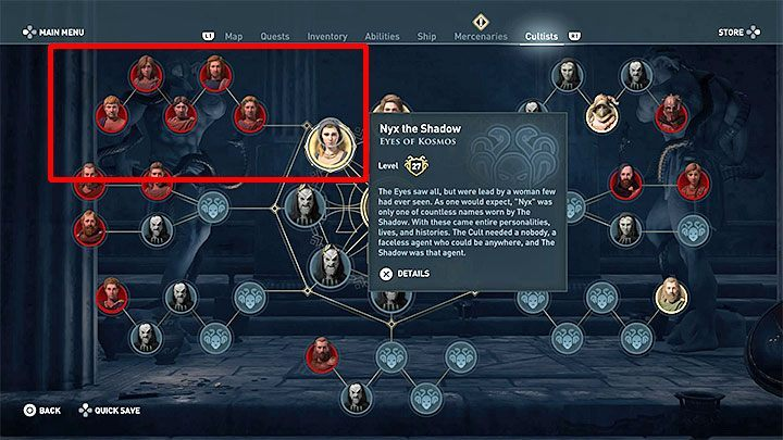 The Cult is represented by eight Sages - Who are Kosmos Cultists in Assassins Creed Odyssey? - Kosmos Cultists - Assassins Creed Odyssey Guide