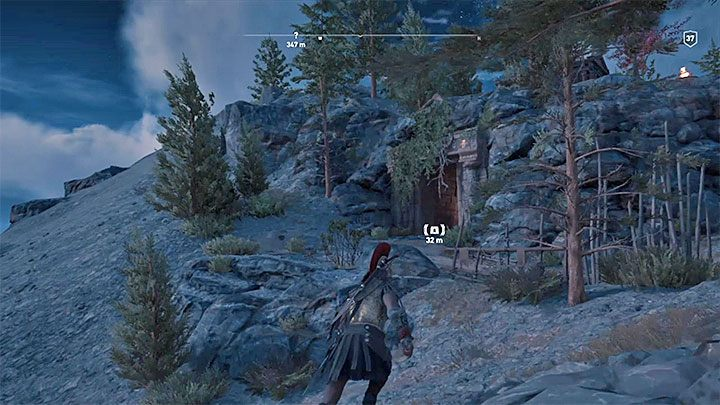 Location of the tomb Mount Psophis - Arcadia - Tombs in Assassins Creed Odyssey Game - Tombs - Assassins Creed Odyssey Guide