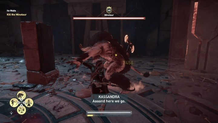 assassins creed odyssey minotaur