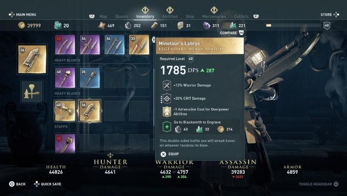Minotaur Mythical Creatures In Assassin S Creed Odyssey