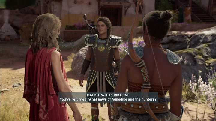 You will find her in Phokis after completing the first mission from the adventure of Daughters of Lalaia - Thyia - Romances in Assassins Creed Odyssey - Romances - Assassins Creed Odyssey Guide