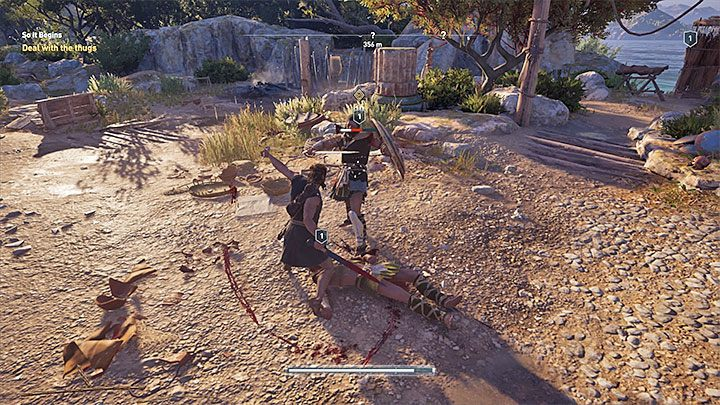 Light and heavy attacks are the two basics types of attacks in the game - Combat guide to Assassins Creed Odyssey - Tips - Assassins Creed Odyssey Guide
