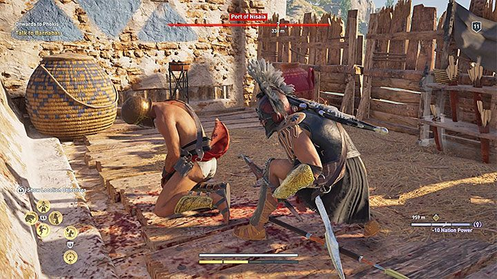 Critical Assassination (a level 10 ability from the Assassin tree) is also useful - Stealth in Assassins Creed Odyssey Game - Tips - Assassins Creed Odyssey Guide