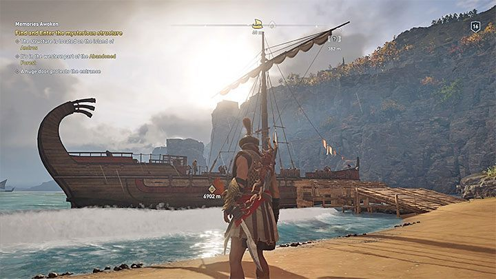 Adrestia is the most important ship in Assassins Creed: Odyssey - its importance comes from the fact that after a few starting missions the ship will be yours - Sailing and ship management in Assassins Creed Odyssey - Tips - Assassins Creed Odyssey Guide