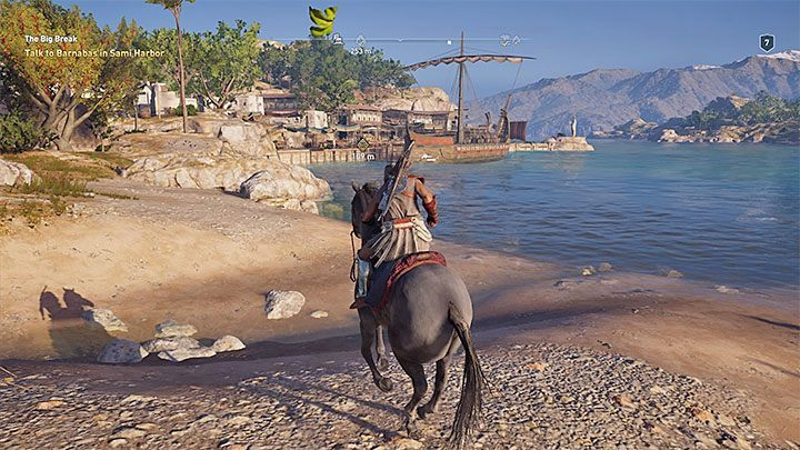 After that you have to reach Barnabas and free him - Sailing and ship management in Assassins Creed Odyssey - Tips - Assassins Creed Odyssey Guide