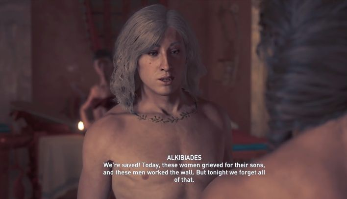 In Assassins Creed Odyssey appears the character of Alkibiades, an Athenian strategist - Historical Figures in Assassins Creed Odyssey - Tips - Assassins Creed Odyssey Guide