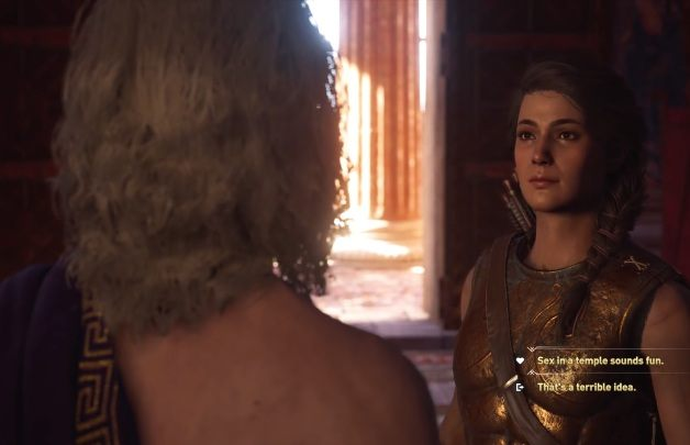 You can get into a long-lasting romance with Alkibiades - Historical Figures in Assassins Creed Odyssey - Tips - Assassins Creed Odyssey Guide
