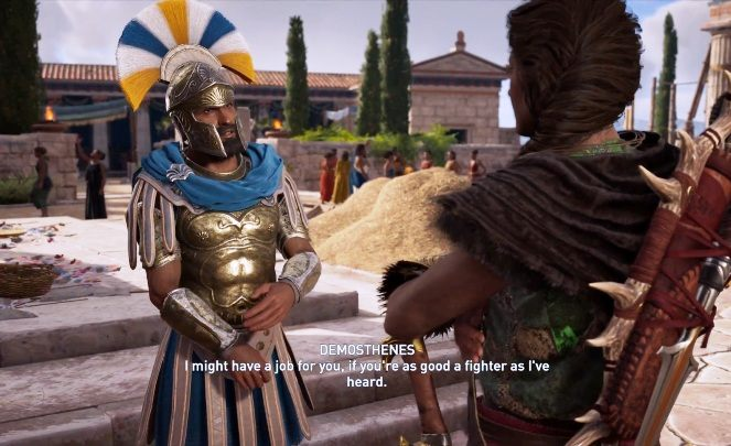 In Assassins Creed Odyssey, youll also meet Demosthenes - Historical Figures in Assassins Creed Odyssey - Tips - Assassins Creed Odyssey Guide