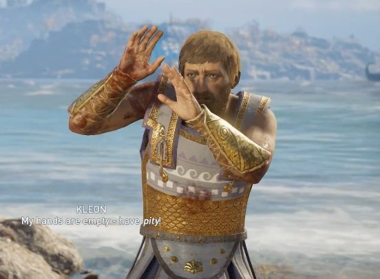 In Assassins Creed Oddysey you will encounter Kleon in Attika - Historical Figures in Assassins Creed Odyssey - Tips - Assassins Creed Odyssey Guide