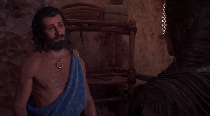 Having completed the mission from Pericles, Assassins Creed Odyssey will send you to Phidias - Historical Figures in Assassins Creed Odyssey - Tips - Assassins Creed Odyssey Guide