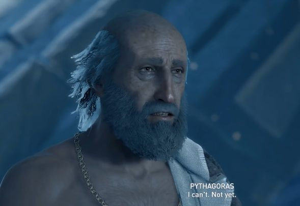 You can encounter Pythagoras in Assassins Creed Odyssey - Historical Figures in Assassins Creed Odyssey - Tips - Assassins Creed Odyssey Guide