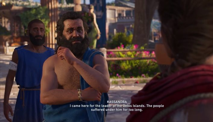 Sokrates will appear in Assassins Creed Odyssey when talking to some citizens near the Temple of Apollo - Historical Figures in Assassins Creed Odyssey - Tips - Assassins Creed Odyssey Guide