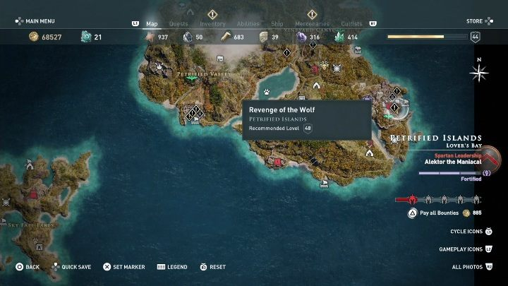 1 - Side Quests on Lesbos Island in Assassins Creed Odyssey - Side Quests - Assassins Creed Odyssey Guide