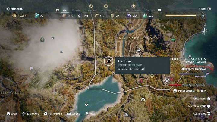 3 - Side Quests on Lesbos Island in Assassins Creed Odyssey - Side Quests - Assassins Creed Odyssey Guide