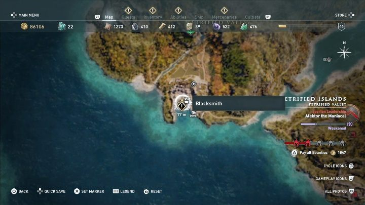 How to start: Speak with the fisherman - Side Quests on Lesbos Island in Assassins Creed Odyssey - Side Quests - Assassins Creed Odyssey Guide