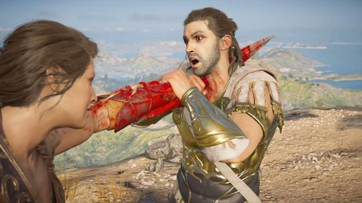 Making a few bad choices and being hostile towards Deimos (i - Important choices in Chapter 9 of Assassins Creed Odyssey - Important choices - Assassins Creed Odyssey Guide