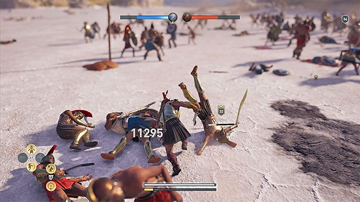 When exploring the in-game world or when sneaking, your health bar might regenerate on its own - How to heal your character in Assassins Creed Odyssey Game? - FAQ - Assassins Creed Odyssey Guide