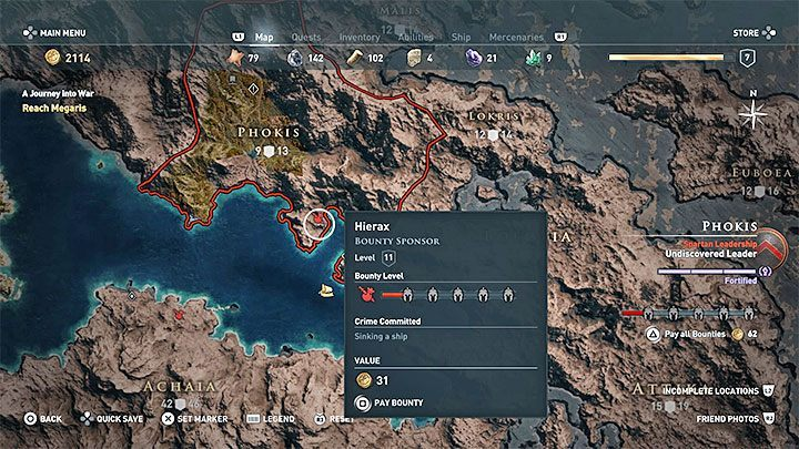 2 - How does the crime system work in Assassins Creed Odyssey? - FAQ - Assassins Creed Odyssey Guide