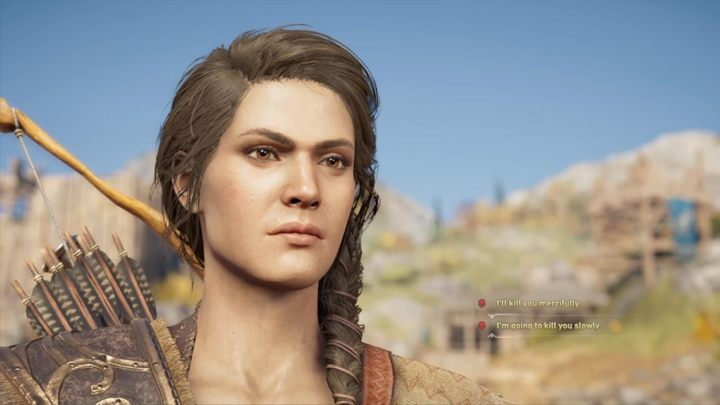 You now have to make a choice - you can kill Kleon fast or make him suffer - Battle of Amphipolis - Assassins Creed Odyssey Walkthrough - Main Storyline - Assassins Creed Odyssey Guide