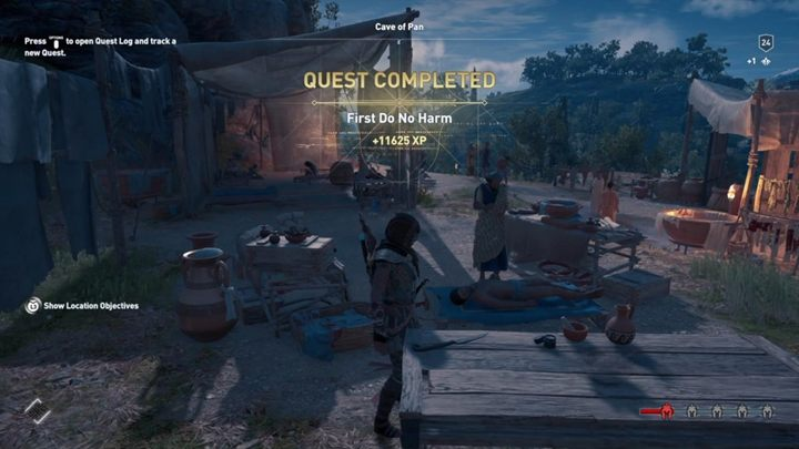Look for Hippokrates - head to Argolis - A Prescription for Discovery - Assassins Creed Odyssey Walkthrough - Main Storyline - Assassins Creed Odyssey Guide