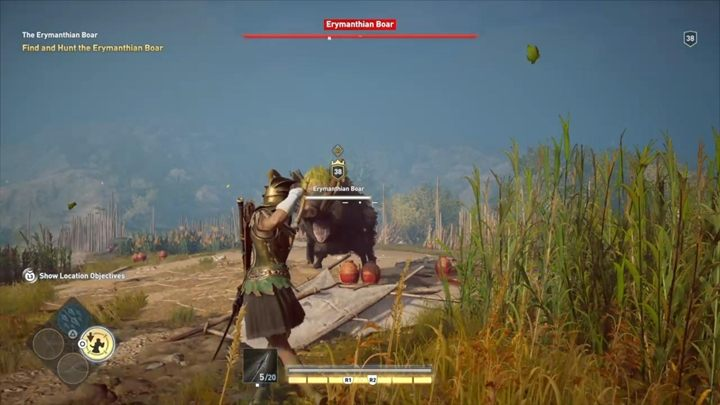 Description: Time to hunt another legendary boar - The Erymanthian Boar (Elis) - Hunting for Seven Beasts Assassins Creed Odyssey - Hunting for Seven Beasts - Assassins Creed Odyssey Guide