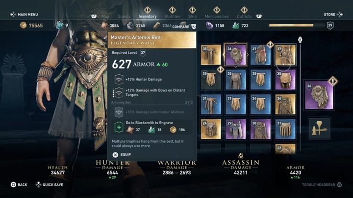 Rewards: 20,900 XP - Constellation of Kallisto (Arkadia) - Hunting for Seven Beasts - Hunting for Seven Beasts - Assassins Creed Odyssey Guide