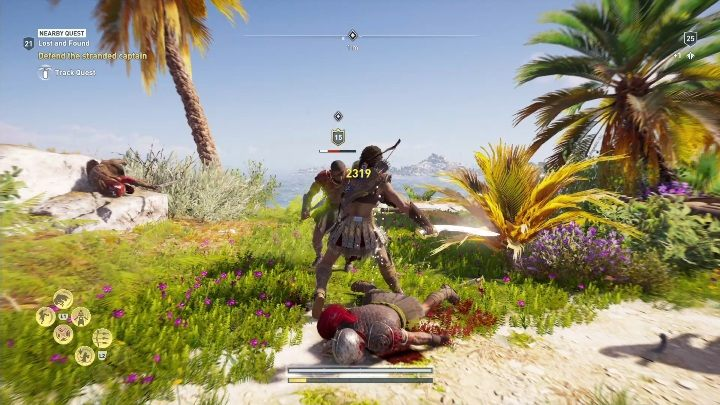 This quest starts: After you talk to the captain of the crew on the Island - Side Quests in Pirate Islands in Assassins Creed Odyssey - Side Quests - Assassins Creed Odyssey Guide