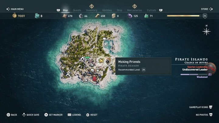 Ac Odyssey Pirate Islands Side Quests Walkthrough Assassin S
