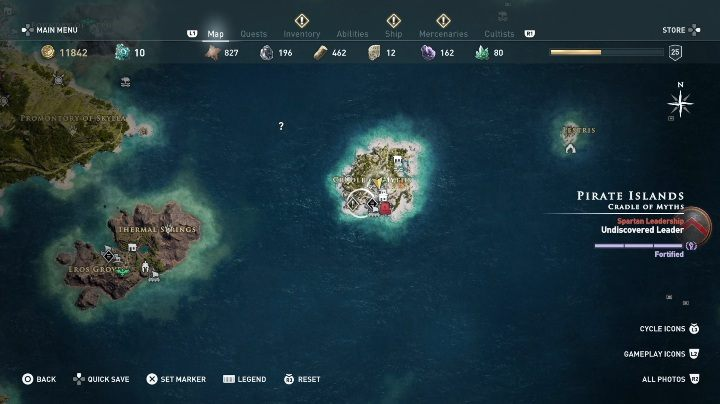 This quest starts After you talk to the women - Side Quests in Pirate Islands in Assassins Creed Odyssey - Side Quests - Assassins Creed Odyssey Guide